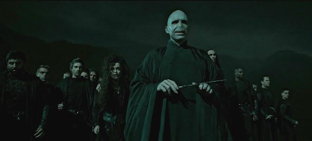 Волдемор и смъртожадните в Хари Потър и даровете на смъртта
