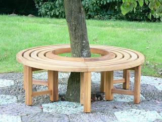 gambar kursi taman bulat