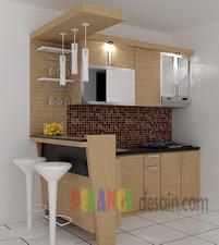 Kitchenset Pelangi Desain Interior Kitchen Set Dan Mini Bar