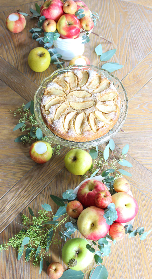 How to create apple-filled table decor for fall entertaining