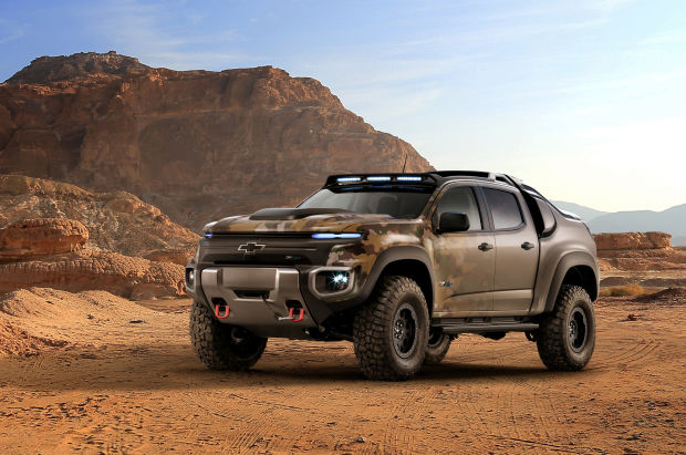 La devoradora de terreno, la nueva Chevrolet militar