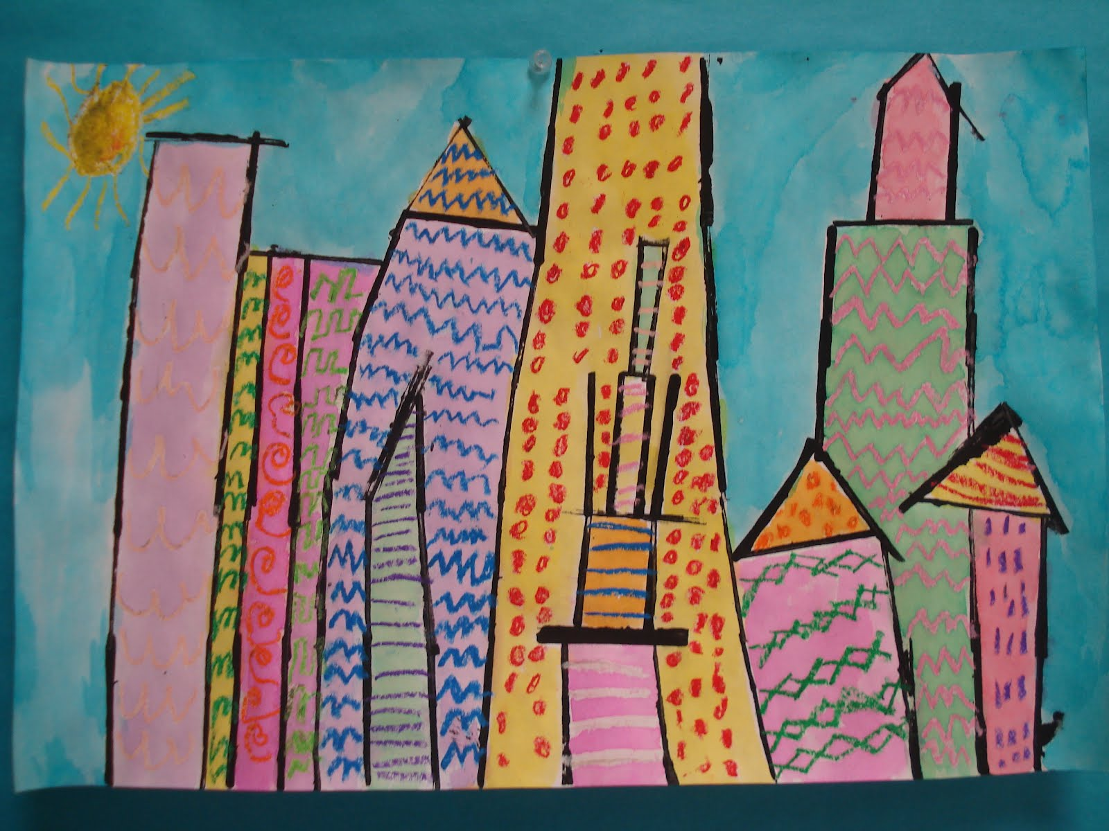 Color For Everyone First Grade Cities