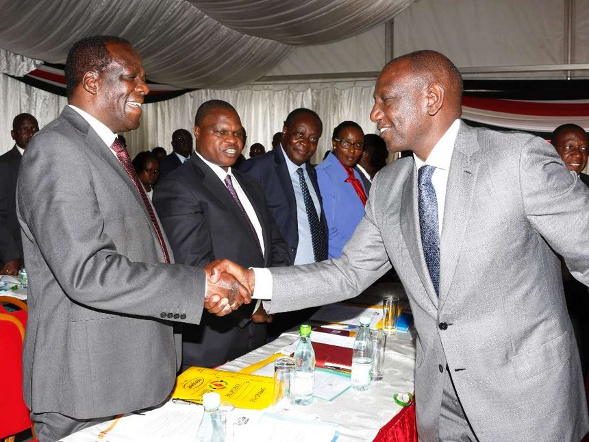 How William Ruto Fought For Oparanya's Win In The Council Of Governors
