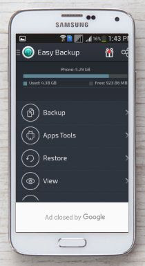 android backup apps 2017