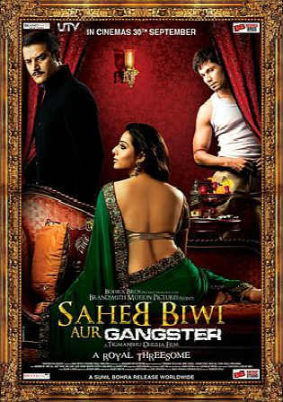 Saheb Biwi Aur Gangster Returns 2013 BluRay 400MB Hindi 480p ESub Watch Online Full Movie Download bolly4u