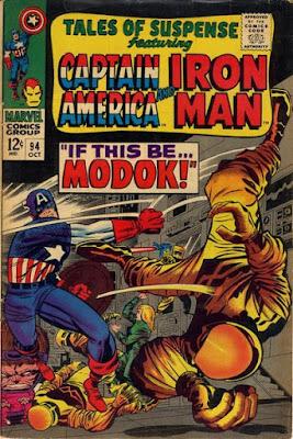Tales of Suspense #94, Captain America vs AIM