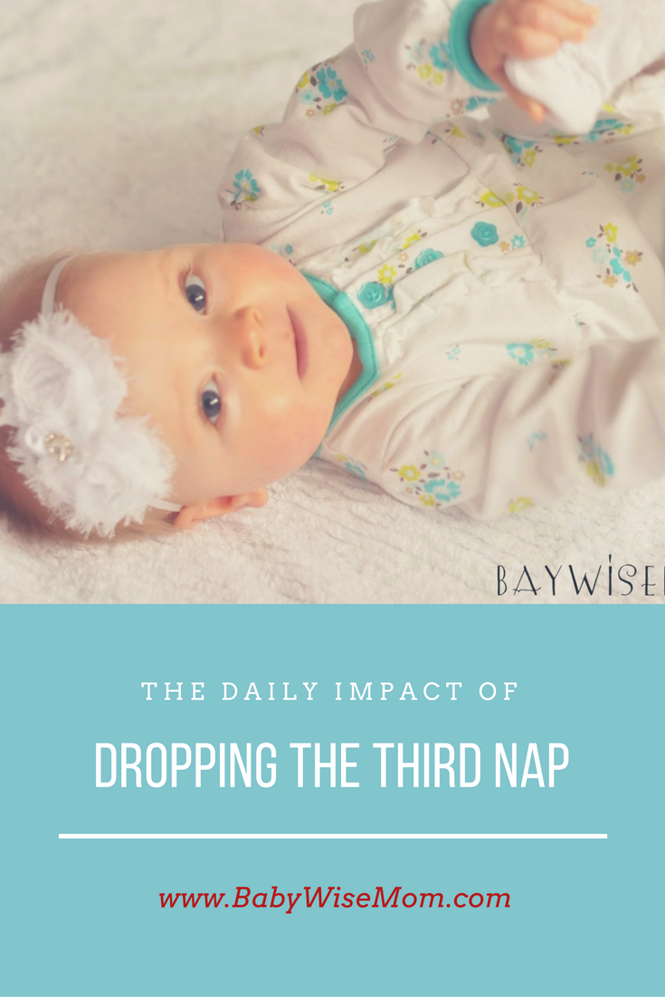 when do babies drop third nap