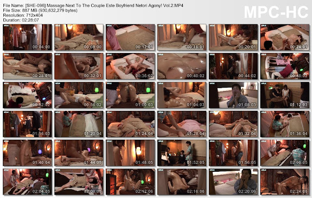 [SHE-096] Massage Next To The Couple Este Boyfriend Netori Agony! Vol.2