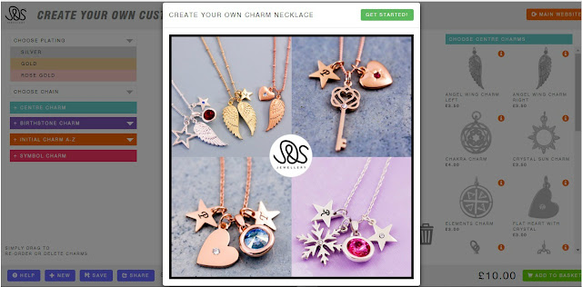 Create your own necklace with J&S Jewellery