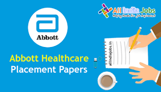 Abbott Healthcare Placement Papers