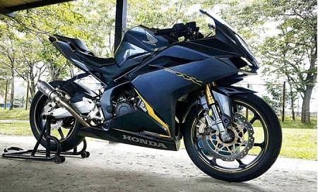 Modifikasi Honda CB250RR Terbaru