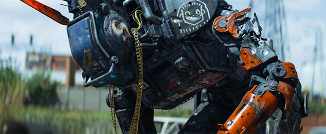 robot tampil di chappie netflix