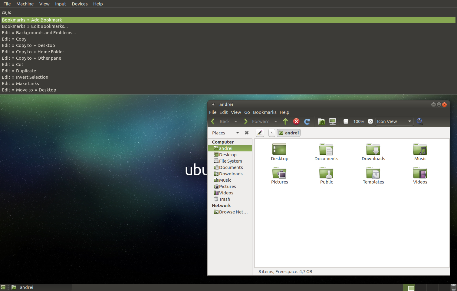 Ubuntu MATE 16 10 Yakkety Yak Gets A Unity HUD-Like Searchable Menu