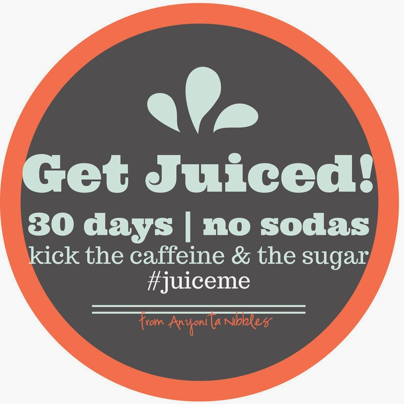 I'm up for the challenge! Kick the caffeine and the sugar and #juiceme