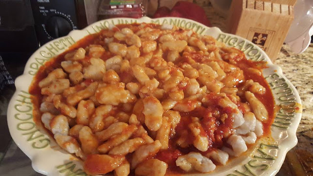 Homemade Gnocchi and Easter 2016