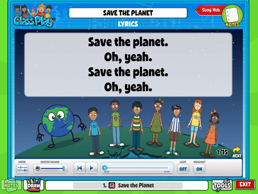 ♫ We ❤ Music @ HSES! ♫: Save the Planet