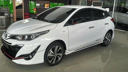 Harga New Yaris Trd 2018 All Camry Review Toyota Facelift Simulasi Kredit Promo Terbaru