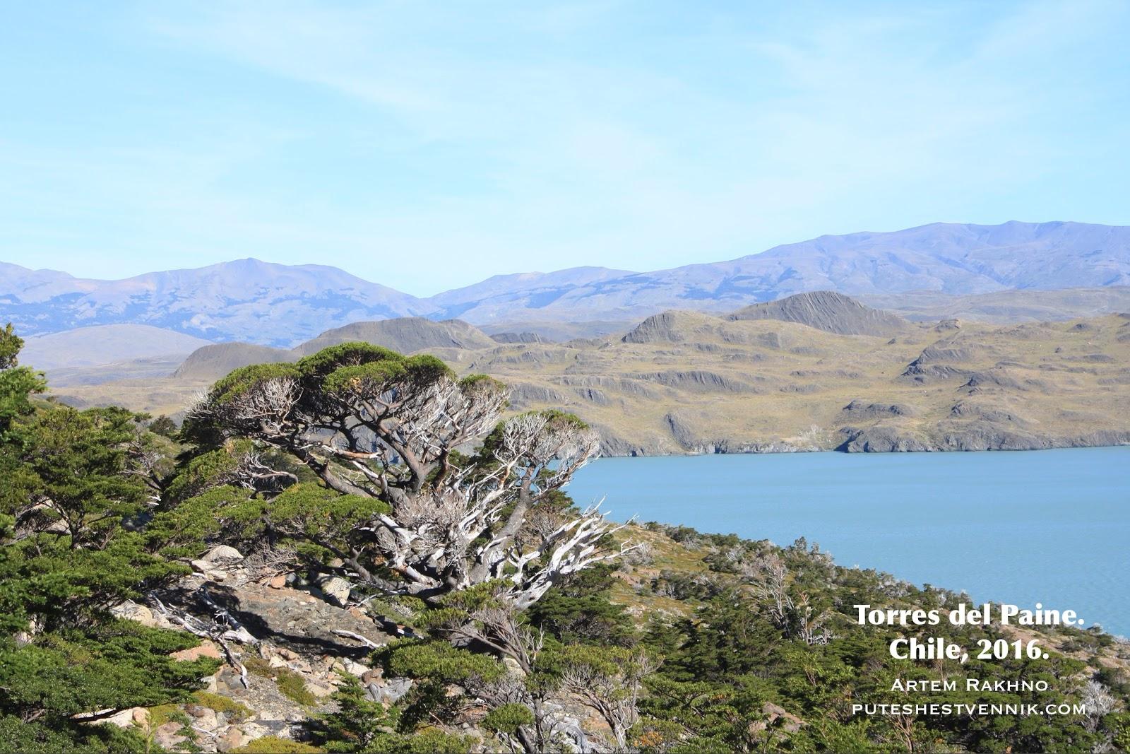 Путешествие по Торрес-дель-Пайне