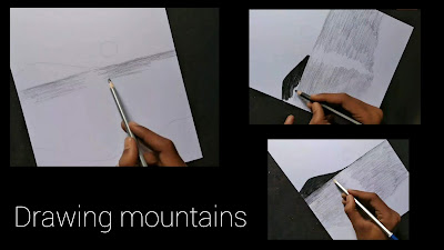 How to draw sunset scenery, sunset drawing, how to draw sunset drawing with pencil ,step by step tutorial drawing for beginners, sunset sketching, scenery sketching, how to draw scenery drawing ,drawing for begginers