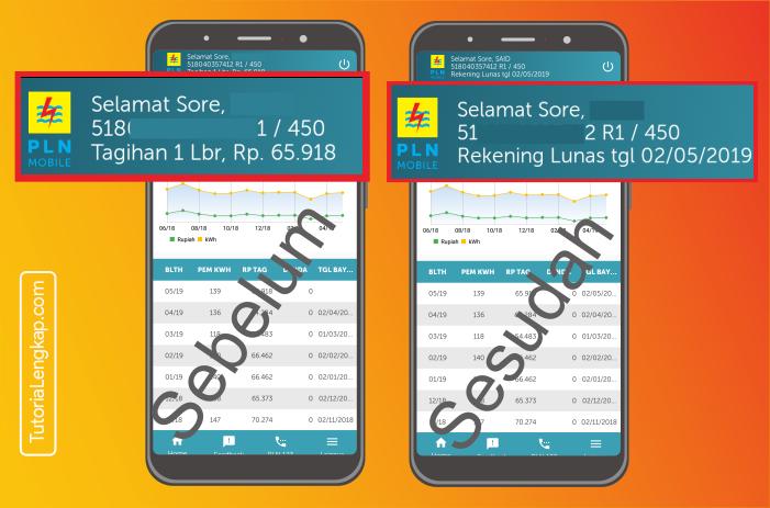 tutorialengkap 7 cara bayar listrik online melalui aplikasi LinkAja di android
