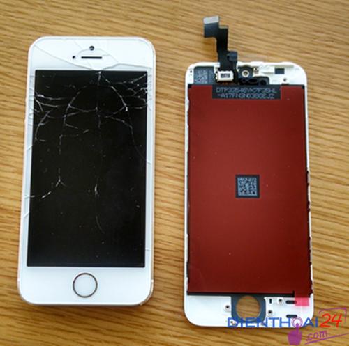 nguyên nhân thay mặt kính iphone 5s