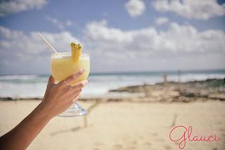 drinks de verão, pina colada