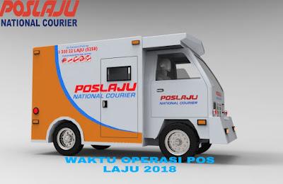 Waktu Operasi Pos Laju 2018 Seluruh Malaysia