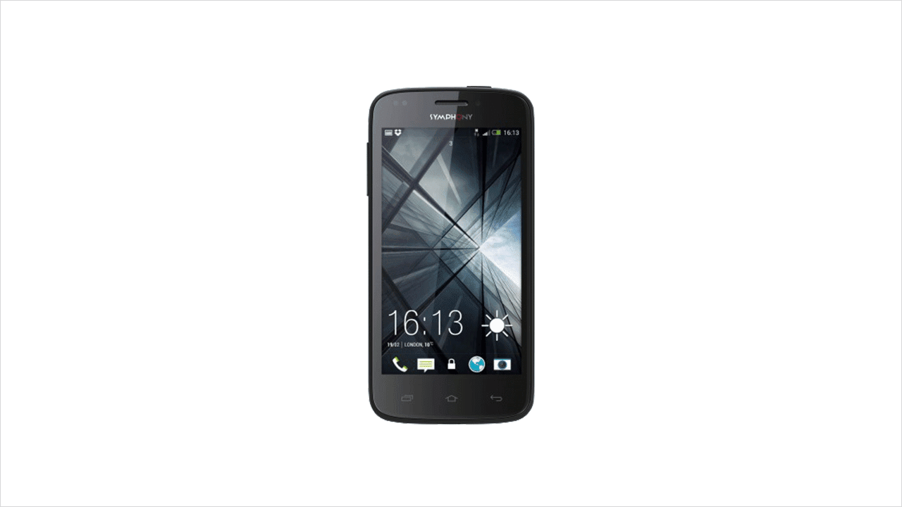 Mobile Phones: Symphony Xplorer W71i Smart Phone Full