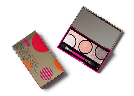 PUPA Milano Dot Shock Eyeshadow Palette 002 Spring Apricot Review Photos
