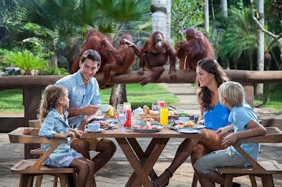 liburan keluarga di bali zoo