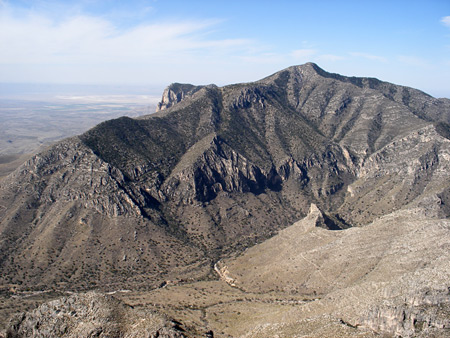 mountain pictures guadalupe mountains national park