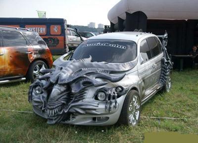 Car Design and More Fashionable Car Paint Design