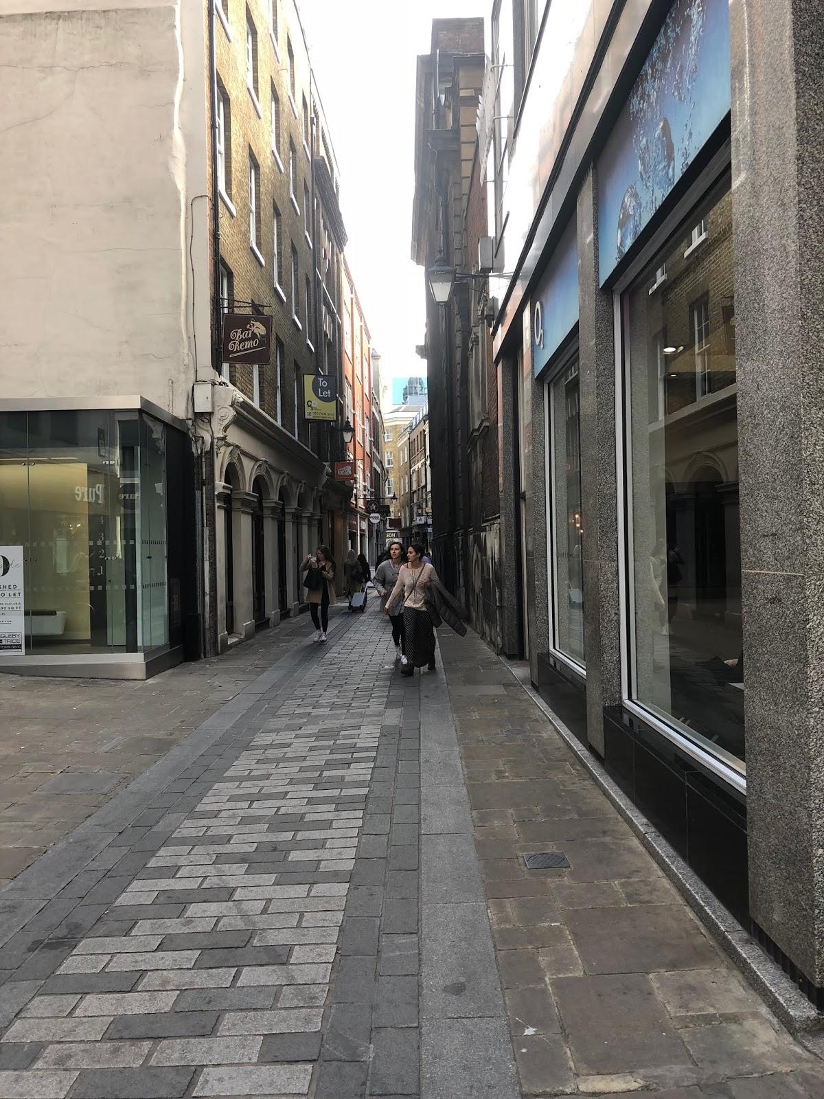 London side street