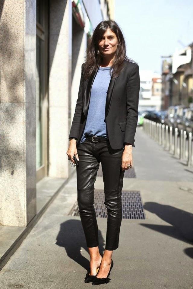 Style Crush Emmanuelle Alt But Will It Work For Me I Won 39 T Wear Sludge Brown