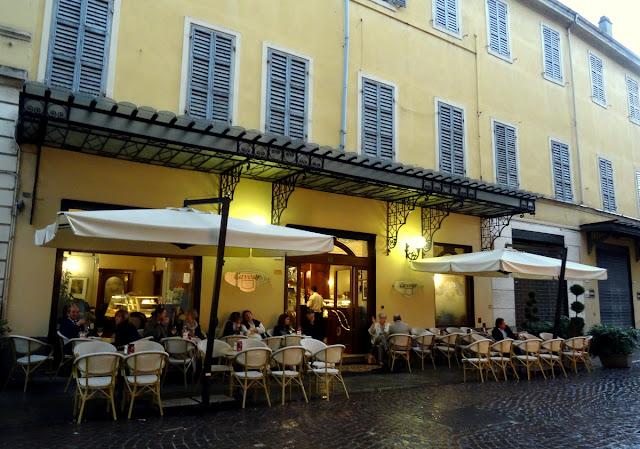 Gran Caffe Cavour in Parma, Italy