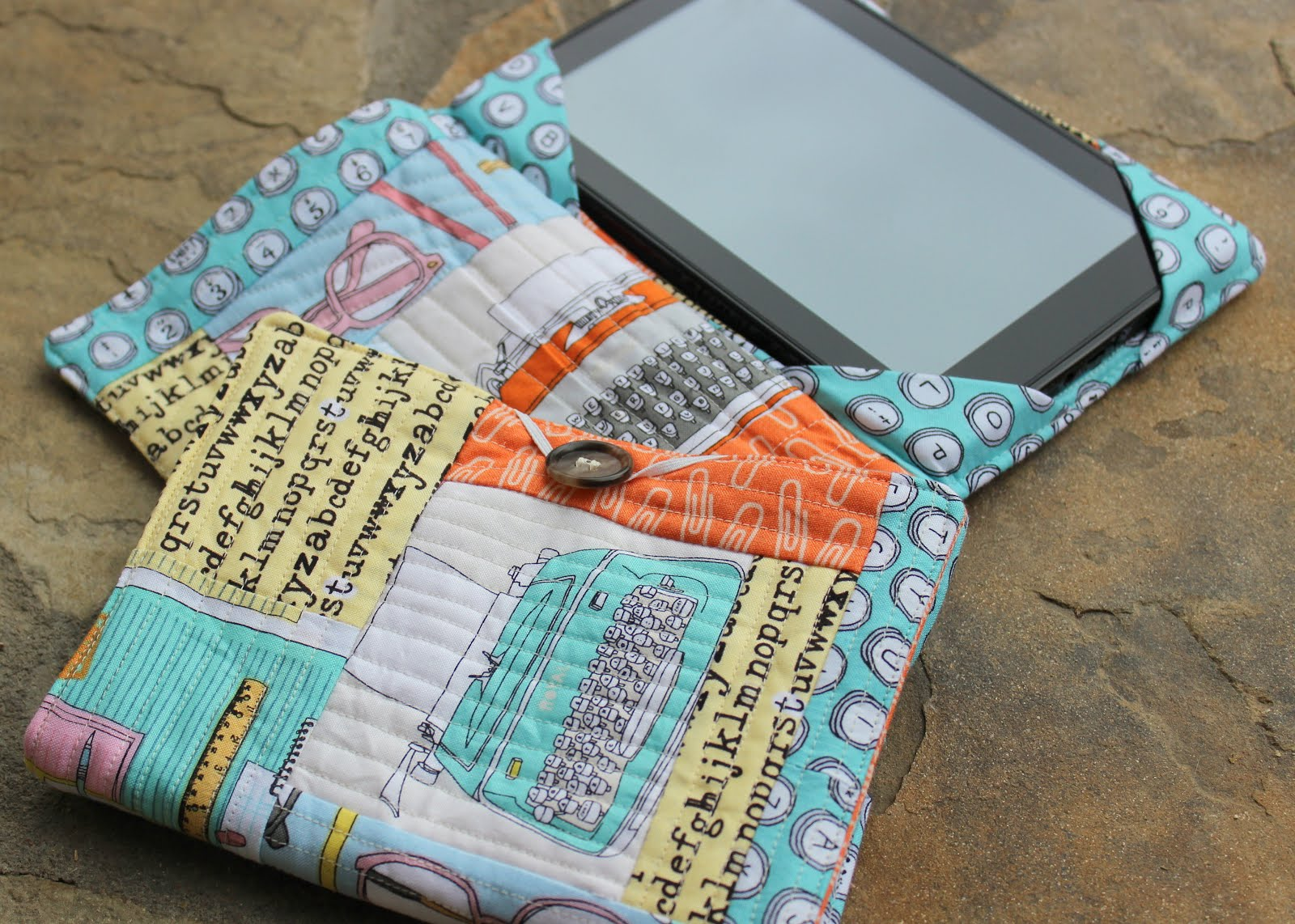 My Fabric Relish Quilted E Book Cover