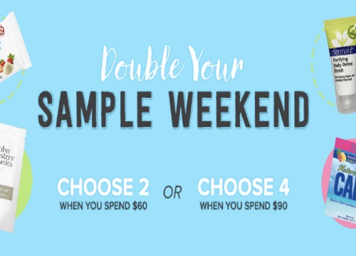 Well.ca Double Your Sample Weekend