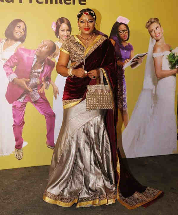 The Wedding Party Nollywood 2 Movie Premier Is All Fun And Glamour