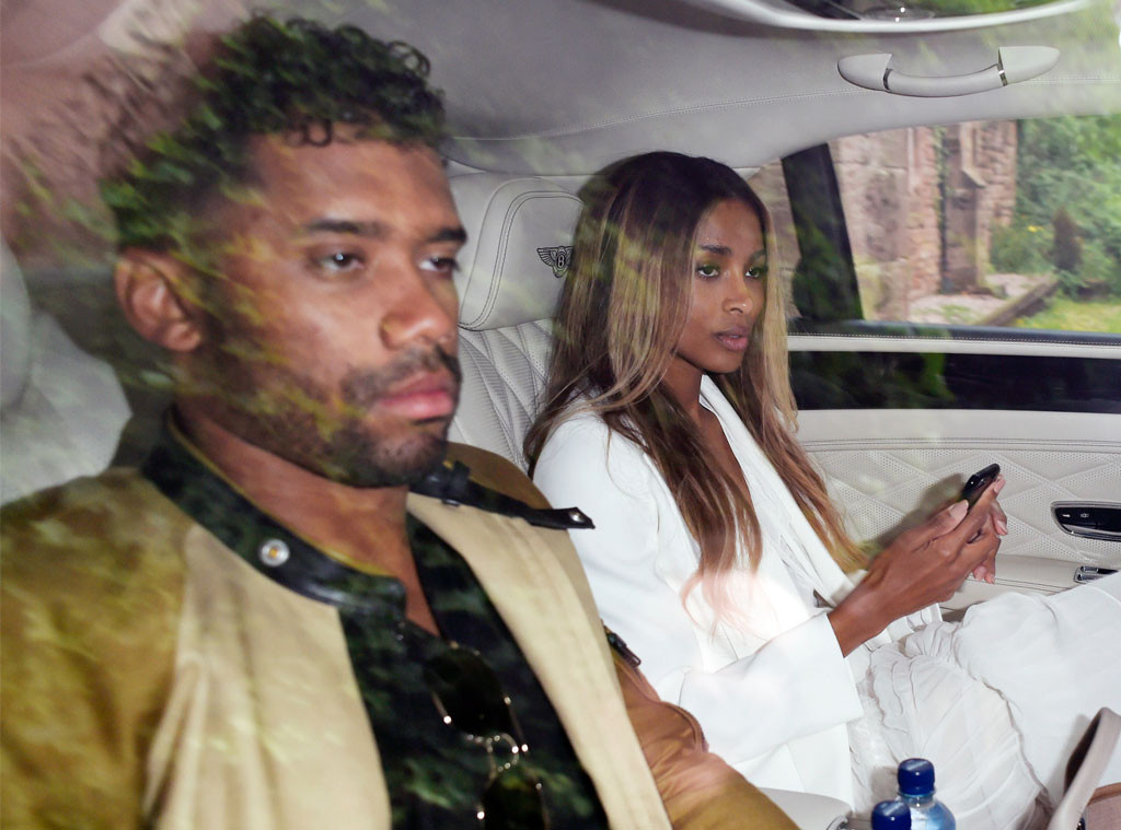 russell and ciara wilson jet off to their honeymoon photos