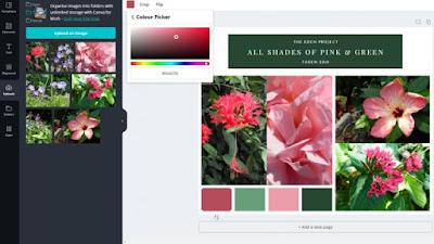 طريقة دمج الصور أون لاين مجانا - تحرير الألوان و التصميم