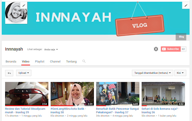 channel youtube innnayah