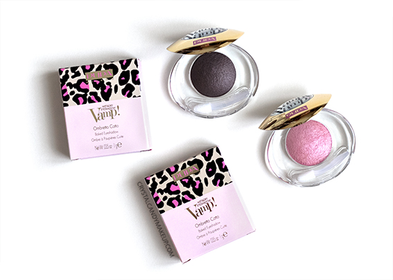 PUPA Vamp Wet Dry Eyeshadows 001 Golden Mauve 005 Glam Pink Review