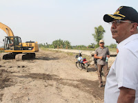 Pantau Perkembangan, Wali Kota Kunjungi Lahan Untuk Jalan Masuk Islamic Centre