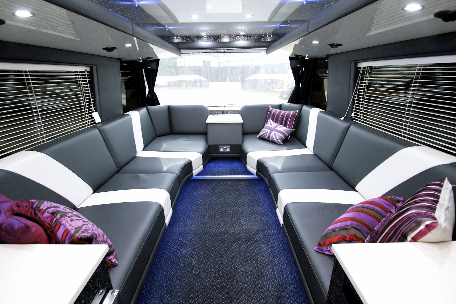 MyNameisFanny Phoenix Band Buses  Showcasing the new Star Bus double bedroom tour bus