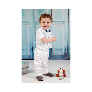 baptism clothes in modern style