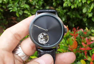 Jam Tangan Automatic Mechanical Eutour E0005 Minimalis Skeleton Men Watch