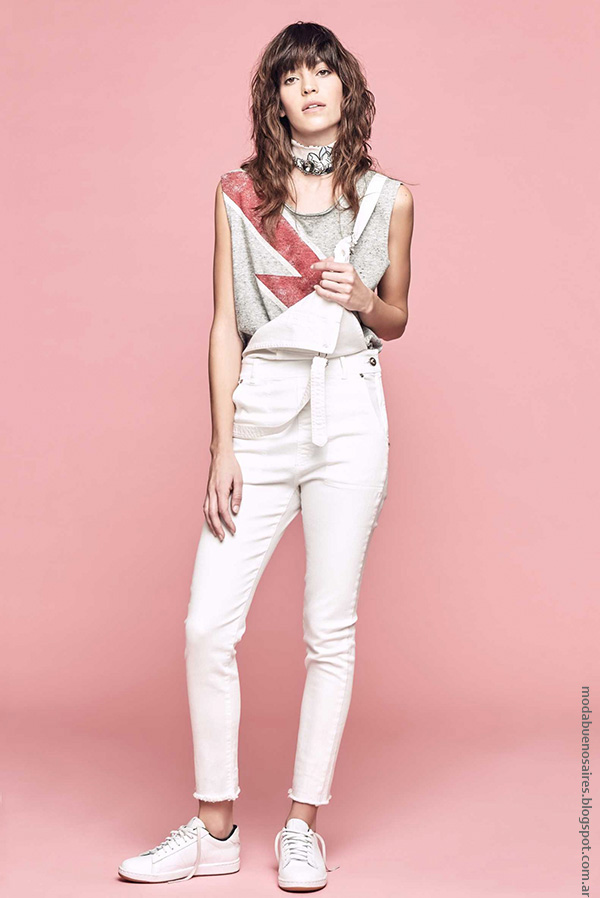 Moda mujer verano 2017 ropa de moda enterito de verano estilo urbano moda 2017.