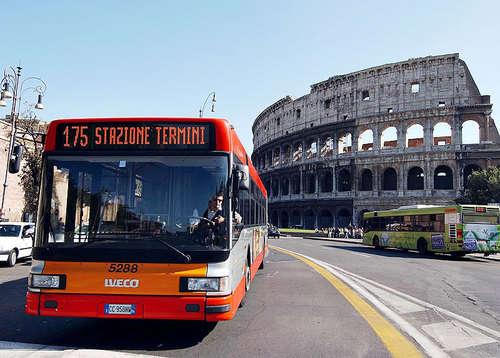 Como se locomover de ônibus em Roma