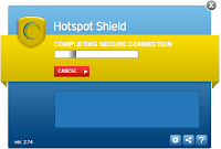 HostSpot Shield - the latest version