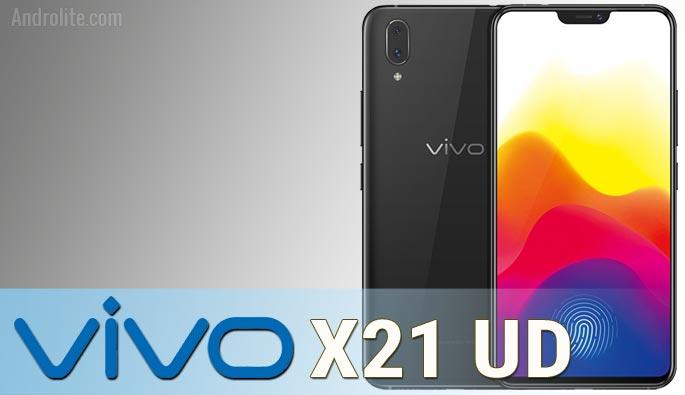 Harga terbaru Vivo X21 UD
